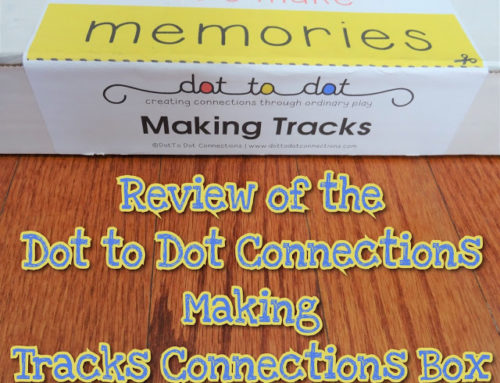 Review of the Dot to Dot Connections Making Tracks Connections Box