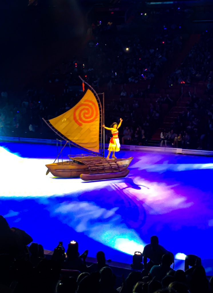 Moana of Montunui at Disney On Ice presents Road Trip Adventures