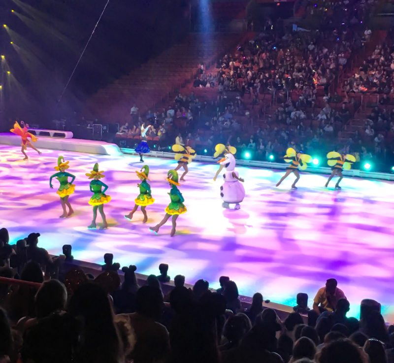Olaf imagines summer at Disney On Ice presents Road Trip Adventures
