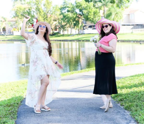 Odalys Q Writer and Denise Castro VMC