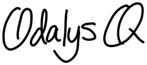 Odalys Q Writer - sign off